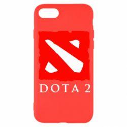 Чехол для iPhone SE 2020 Dota 2 Big Logo