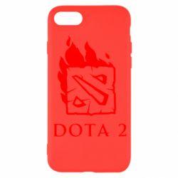 Чохол для iPhone SE 2020 Dota 2 Fire