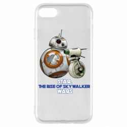 Чехол для iPhone SE 2020 Droids BB 8 and  D O  star wars the rise of skywalker
