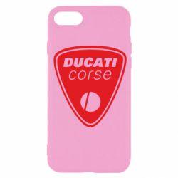Чехол для iPhone SE 2020 Ducati Corse