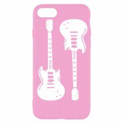 Чохол для iPhone SE 2020 Дві гітари