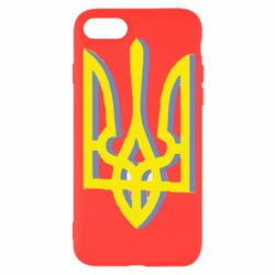 Чехол для iPhone SE 2020 Двокольоровий герб України