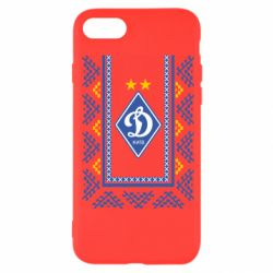 Чехол для iPhone SE 2020 Dynamo logo and ornament