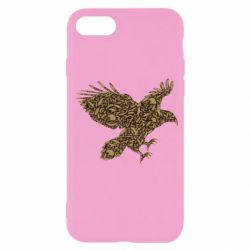 Чехол для iPhone SE 2020 Eagle feather