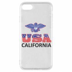 Чехол для iPhone SE 2020 Eagle USA