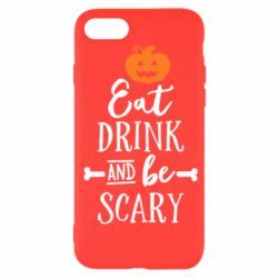 Чохол для iPhone SE 2020 Eat Drink and be Scary