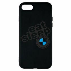 Чохол для iPhone SE 2020 Eat, sleep, BMW