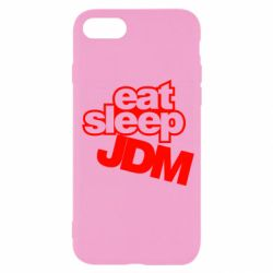 Чехол для iPhone SE 2020 Eat sleep JDM