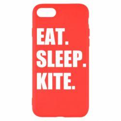 Чохол для iPhone SE 2020 Eat, sleep, kite