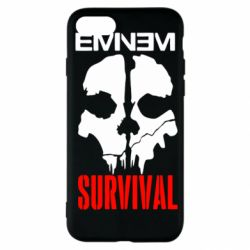 Чехол для iPhone SE 2020 Eminem Survival