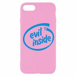 Чехол для iPhone SE 2020 Evil Inside