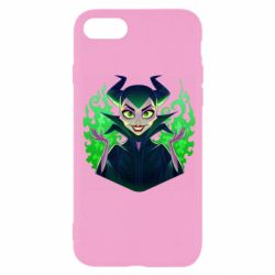 Чехол для iPhone SE 2020 Evil Maleficent