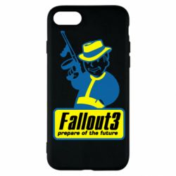 Чехол для iPhone SE 2020 Fallout 3 Logo