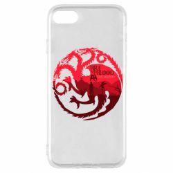 Чехол для iPhone SE 2020 Fire and Blood