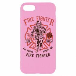 Чохол для iPhone SE 2020 Fire Fighter