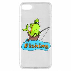 Чехол для iPhone SE 2020 Fish Fishing