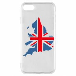 Чехол для iPhone SE 2020 Флаг Англии