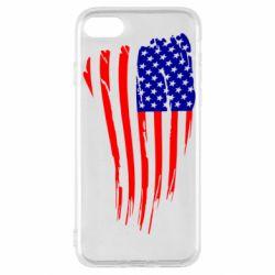 Чохол для iPhone SE 2020 Прапор США