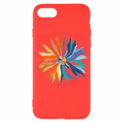 Чохол для iPhone SE 2020 Flower coat of arms of Ukraine