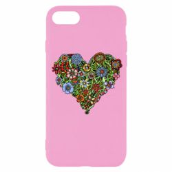 Чохол для iPhone SE 2020 Flower heart