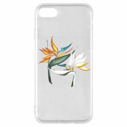 Чехол для iPhone SE 2020 Flowers art painting
