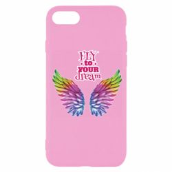 Чохол для iPhone SE 2020 Fly to your dream