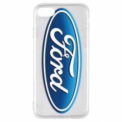 Чехол для iPhone SE 2020 Ford 3D Logo