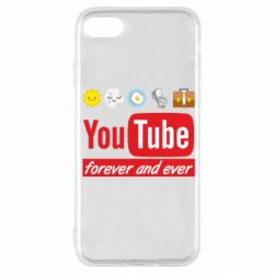 Чохол для iPhone SE 2020 Forever and ever emoji's life youtube