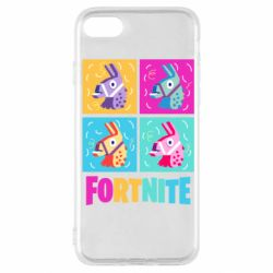 Чехол для iPhone SE 2020 Fortnite Llamas