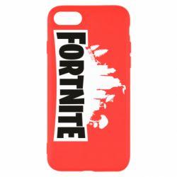Чохол для iPhone SE 2020 Fortnite logo