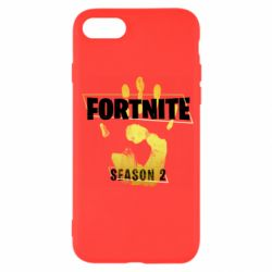 Чехол для iPhone SE 2020 Fortnite season 2 gold