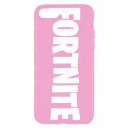Чохол для iPhone SE 2020 Fortnite text