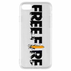 Чехол для iPhone SE 2020 Free Fire spray