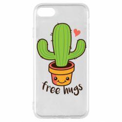 Чохол для iPhone SE 2020 Free Hugs Cactus