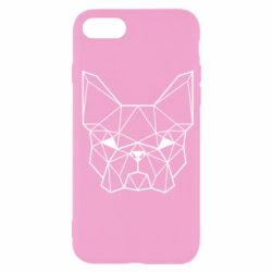 Чехол для iPhone SE 2020 French Bulldog Art