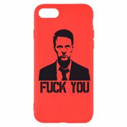 Чехол для iPhone SE 2020 fuck you (бойцовский клуб)