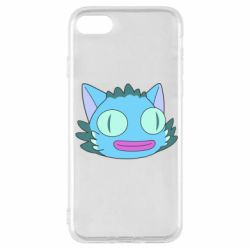 Чехол для iPhone SE 2020 Funny cat from Rick and Morty season 4