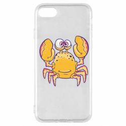 Чехол для iPhone SE 2020 Funny crab