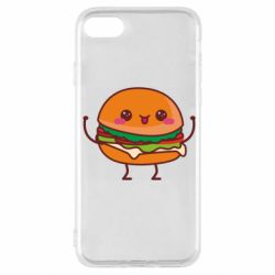 Чехол для iPhone SE 2020 Funny sandwich
