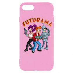 Чохол для iPhone SE 2020 Футурама герої