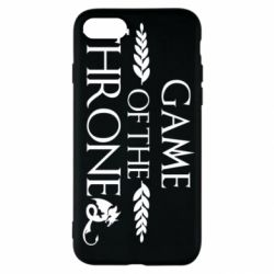 Чохол для iPhone SE 2020 Game of thrones stylized logo