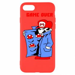 Чехол для iPhone SE 2020 Game Over Mario