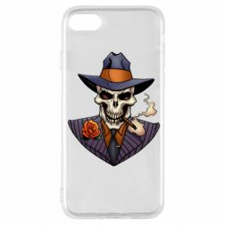 Чехол для iPhone SE 2020 Gangsta Skull