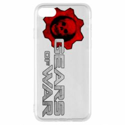 Чехол для iPhone SE 2020 Gears of War logotype