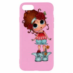 Чехол для iPhone SE 2020 Girl with big eyes