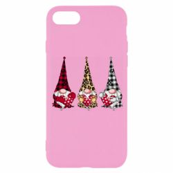 Чехол для iPhone SE 2020 Gnomes with a heart