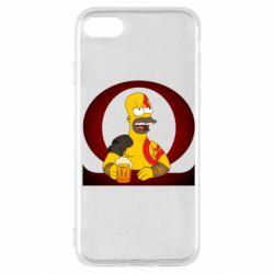 Чохол для iPhone SE 2020 God of war: Simpson