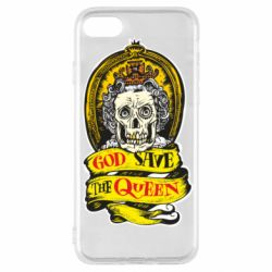 Чохол для iPhone SE 2020 God save the queen