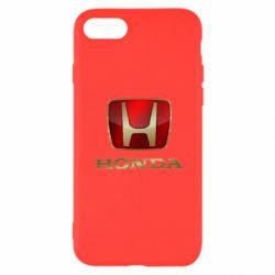 Чехол для iPhone SE 2020 Gold Honda