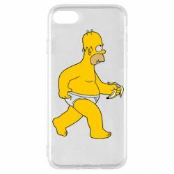 Чехол для iPhone SE 2020 Гомер Симпсон в трусиках